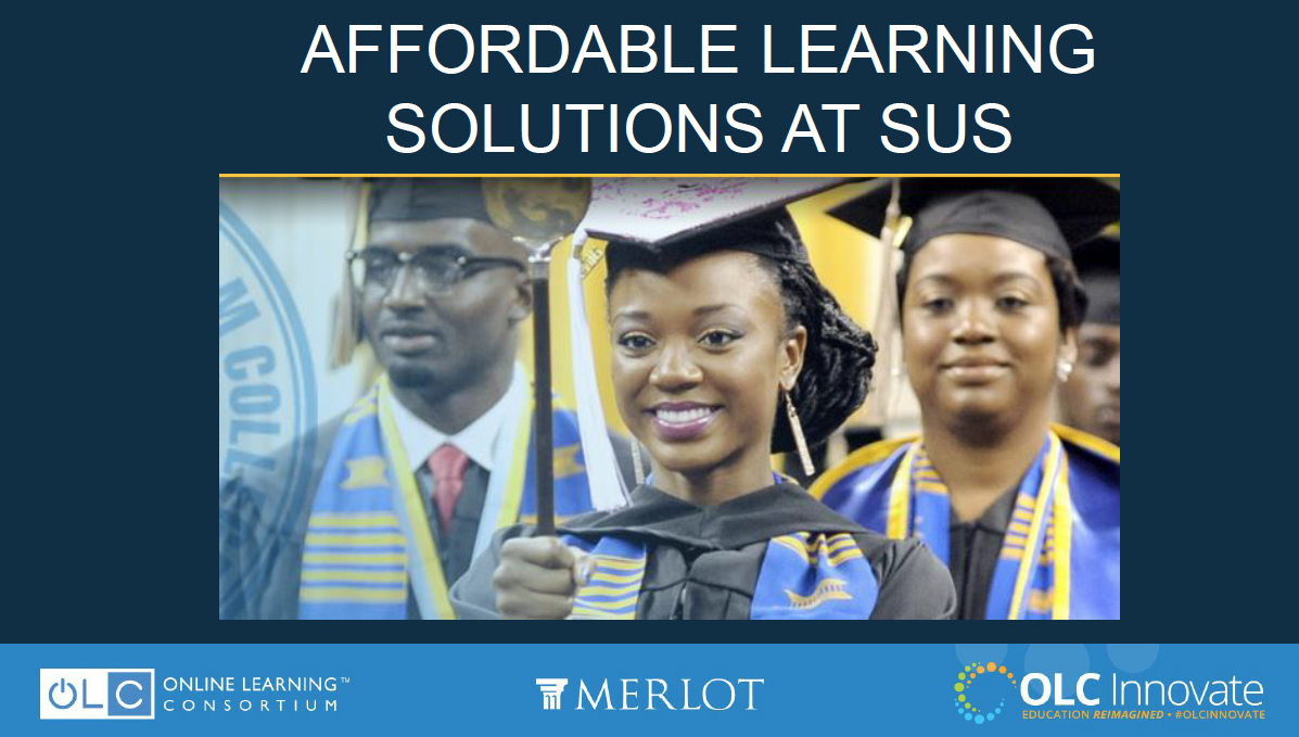 Affordable Learning Solutions at SUS